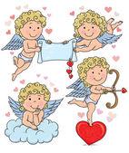 Cupids kids 2 — Stock Vector