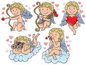 Cupids kids — Stock Vector