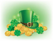 St. Patricks Day symbolics — Stock Vector