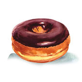 Homemade donut — Stock Photo