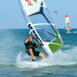 Stock Photo: Windsurfing freestyle