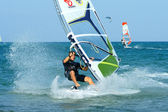 Windsurfing freestyle — Stock Photo