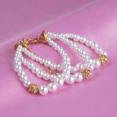 真珠のブレスレット — ストック写真