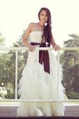 Pretty bride — Stock Photo