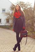 Ragazza alla moda — Foto Stock