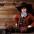 Little cowboy — Stock Photo #24166799