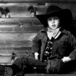 Little cowboy — Stock Photo #24166805