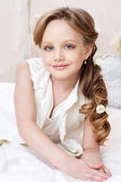 Little girl portrait — Stockfoto