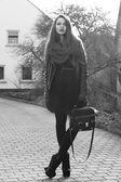 Stylish girl — Stock Photo