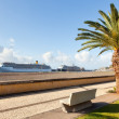Cruise ships stand at port of Funchal, Madeira, Portugal — Stock Photo