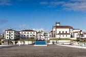 View to Ponta Delgada city — Stock Photo