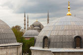 View to the Blue Mosque — Stock Photo