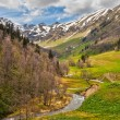 View to foothills of Caucasus mountains near Arkhyz, Karachay-Ch — Stock Photo #28275205