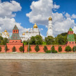 Moscow Kremlin in summer — Stock Photo