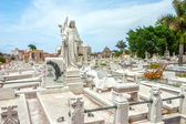 Colon Cemetery graves and tombs — Stock Photo