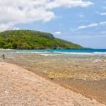 Beach Siboney 19km from Santiago de Cuba — Stock Photo #37674581