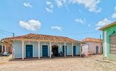 Calle con edificios de coloresвулиці з кольоровими будівель — Foto de Stock