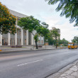 View to Palace of Justice over street — Foto Stock