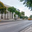 View to Palace of Justice over street — Stock Photo #37903843