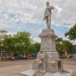 Monument of General Julio Grave de Peralta — Stock Photo #38984571