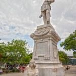 Monument of General Julio Grave de Peralta — Stock Photo #38984575