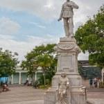 Monument of General Julio Grave de Peralta — Stock Photo #38984587