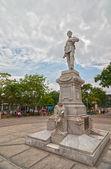 Monument of General Julio Grave de Peralta — 图库照片
