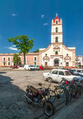 View to Iglesia de Nuestra Senora de la Merced church — Stockfoto