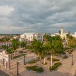 Aerial view to Jose Marti park — Stock fotografie #39494517