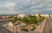 Aerial view to Jose Marti park — Stock Photo