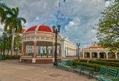 Pavilion at Jose Marti square — Stock Photo