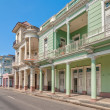 Traditional colonial style buildings located on main street — Stock Photo #40284469
