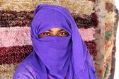 Arabic girl glance — Stock Photo