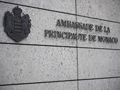 Embassy-Monaco-left — Stock Photo