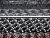 Shopping-Cart-Wheels — Stock Photo