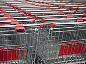 Shopping-Carts — Stock Photo