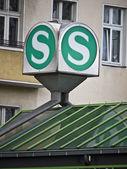 Teken-licht-berlin-spoor — Stockfoto
