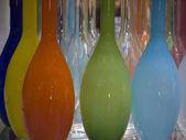 Vases-orangegreen — Stock Photo