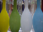 Vases-yellowgreen — Stock Photo