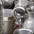 Pewter — Stock Photo