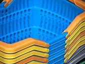 Baskets-plastic — Stock Photo
