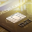 Stock Photo: Credit card macro