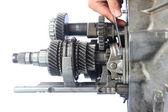 Auto gearbox service — Stock Photo