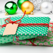 Royalty-Free Stock Photo: Christmas gifts and decorations