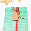 Gift and decorations — Stock Photo