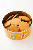 Gingerbread biscuits — Stock Photo