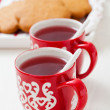 Christmas mulled wine and gingerbread — Stock Photo #16766689
