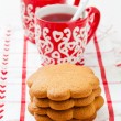 Gingerbread and Christmas mulled wine — 图库照片