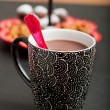 hot chocolate&quot — Stock Photo #34373513