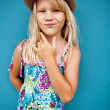 Stock Photo: Stylish cute young girl